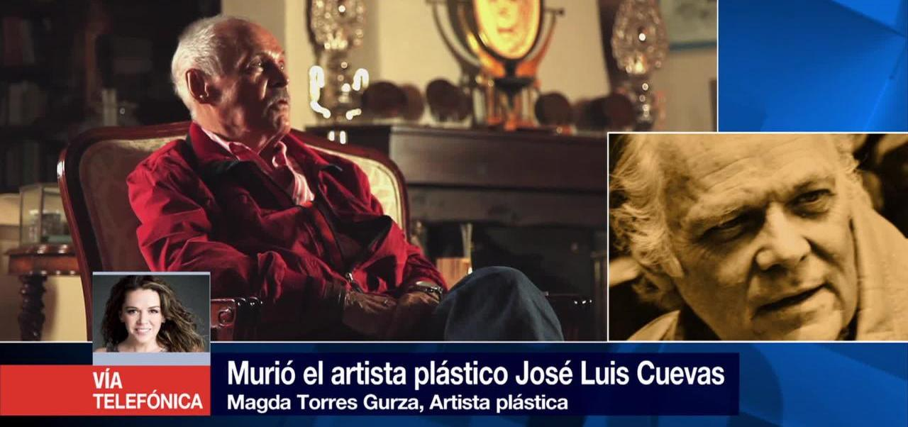 noticias, forotv, José Luis Cuevas, hombre, artistas, Magda Torres Gurza