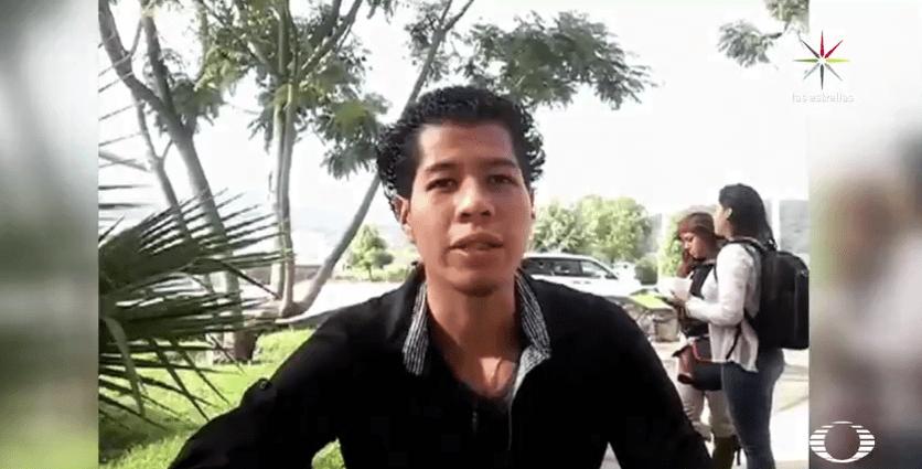 Antonio, un joven desaparecido en Jalisco