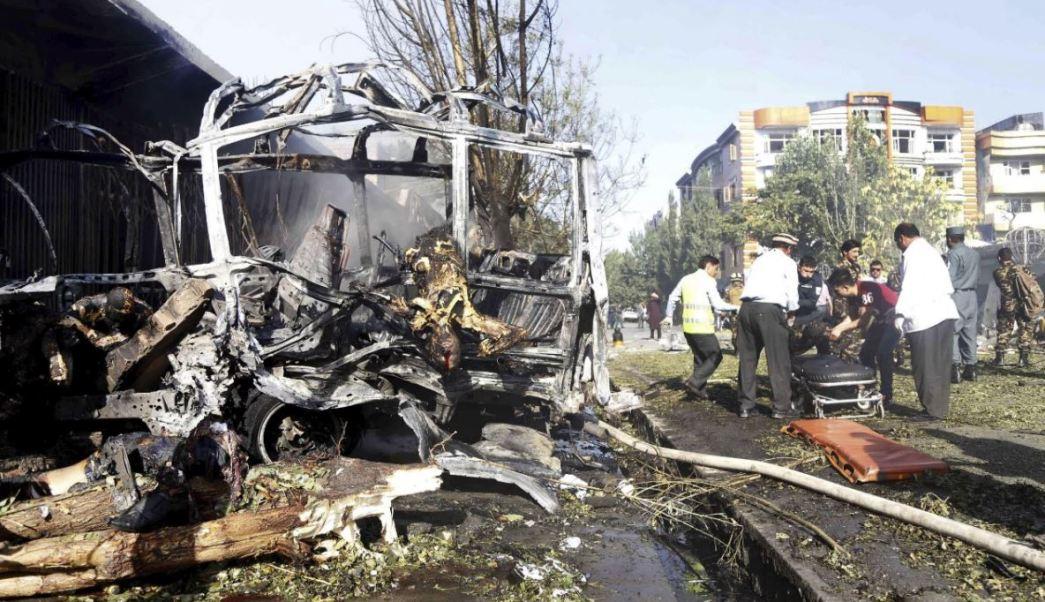 Atentado Suicida, Civiles, Muertos, Heridos, Kabul, ONU, Afganistan, Victimas,Violencia