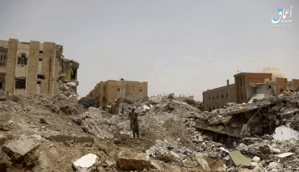 La ciudad siria de Al Raqa ha sido blanco de bombardeos