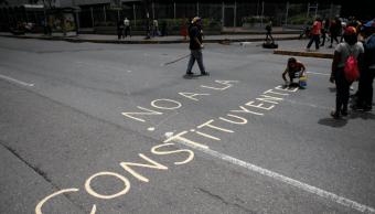 La oposición venezolana rechaza la Asamblea Constituyente
