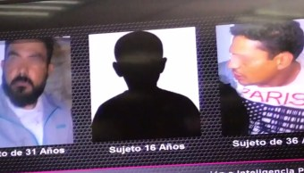 Caen seis hombres robo establecimiento Doctores