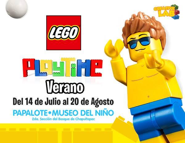 Lego, Museo Papalote, Museo del Niño, Niños, vacaciones, verano