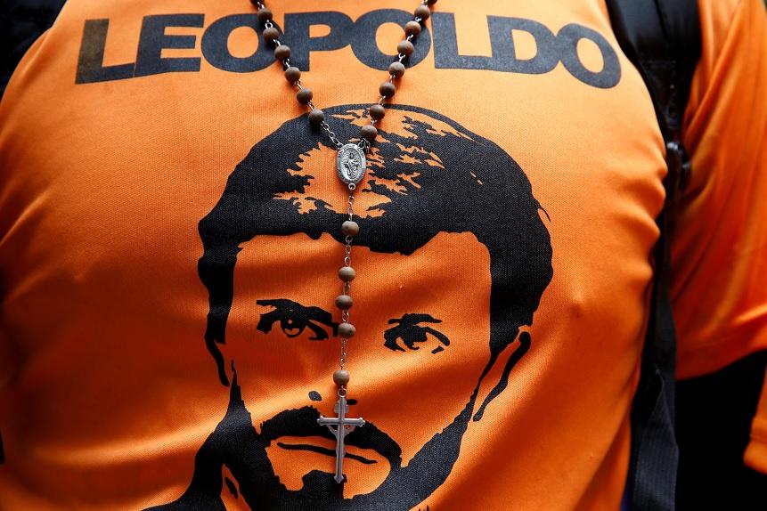 Una imagen del líder de la oposición venezolana Leopoldo López (Reuters)