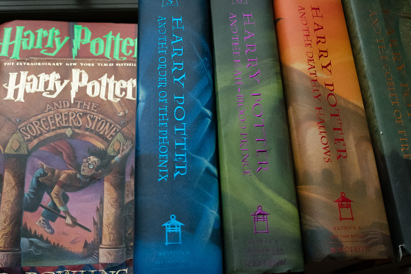 coleccion de libros de harry potter