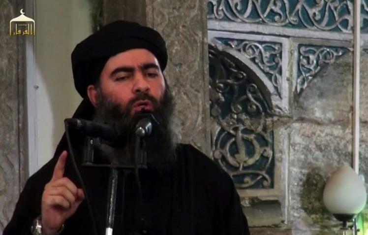El líder de Estado Islámico, Abu Bakr Al-Baghdadi (Twitter: @i24NEWS_EN)