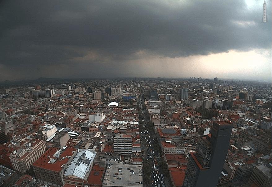 lluvia, ciudad de mexico, precipitaciones, noticias, webcams de méxico