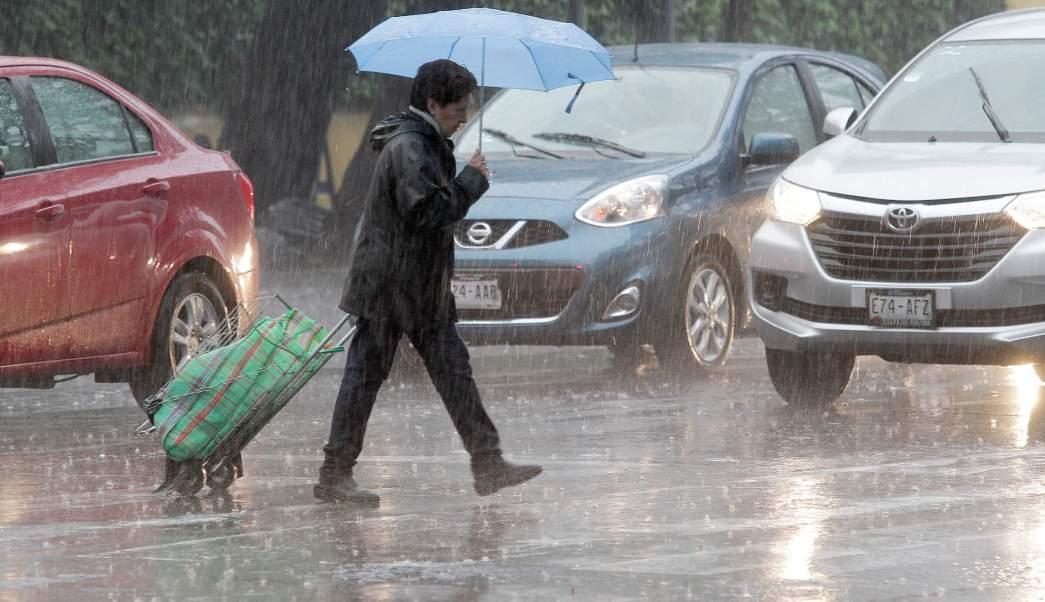 Lluvia, Clima, Vialidad, Cdmx, Transito, Encharcamientos