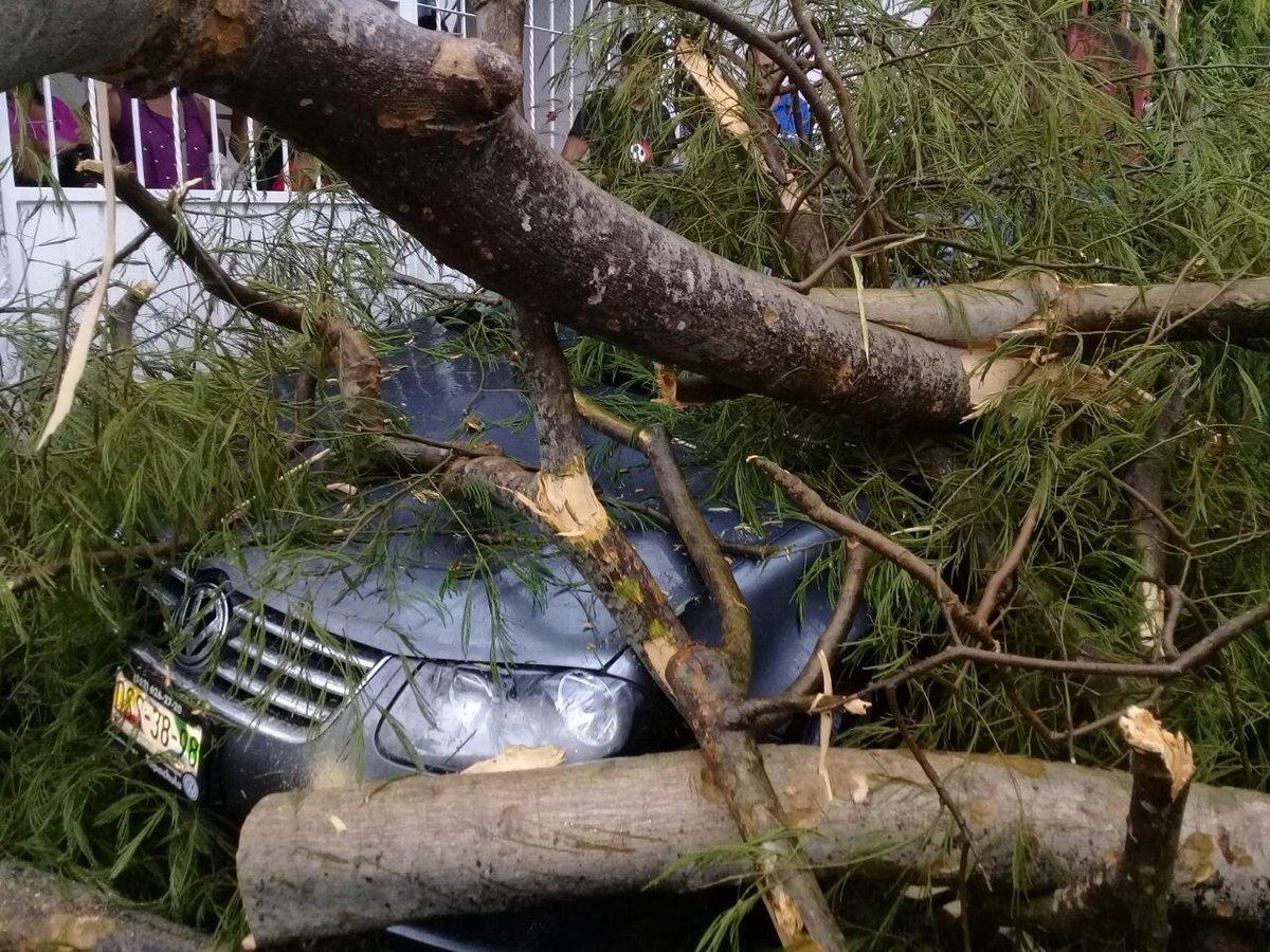 Lluvias causan afectaciones en Tapachula y Tuxtla Gutiérrez, Chiapas