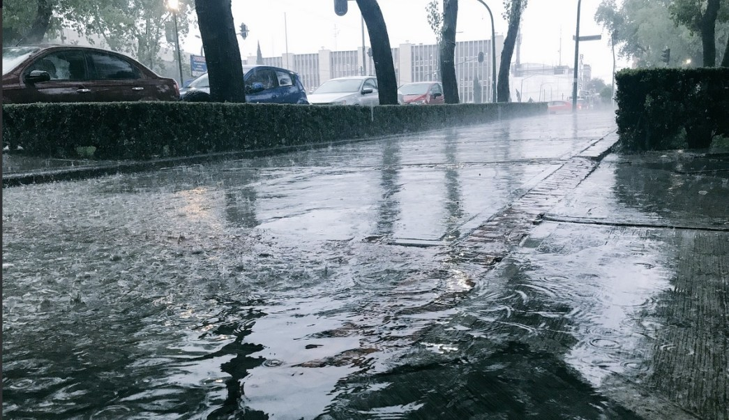 Lluvia, Zona Norte, Cdmx, Luis Felipe Puente