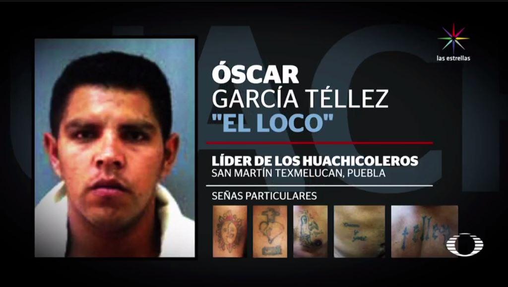 Óscar García Téllez, El Loco Téllez, San Martín Texmelucan, Puebla, robo de combustible, huachicoleros