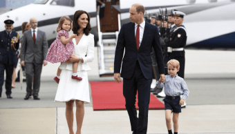 Los duques de Cambridge, Guillermo y Catalina, en Polonia