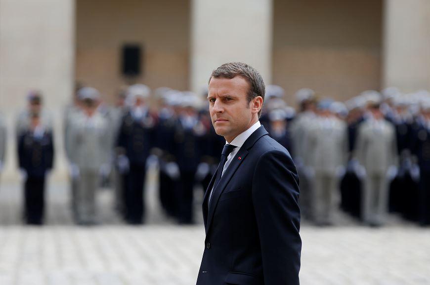 Detienen a un hombre que amenazaba con matar a Macron