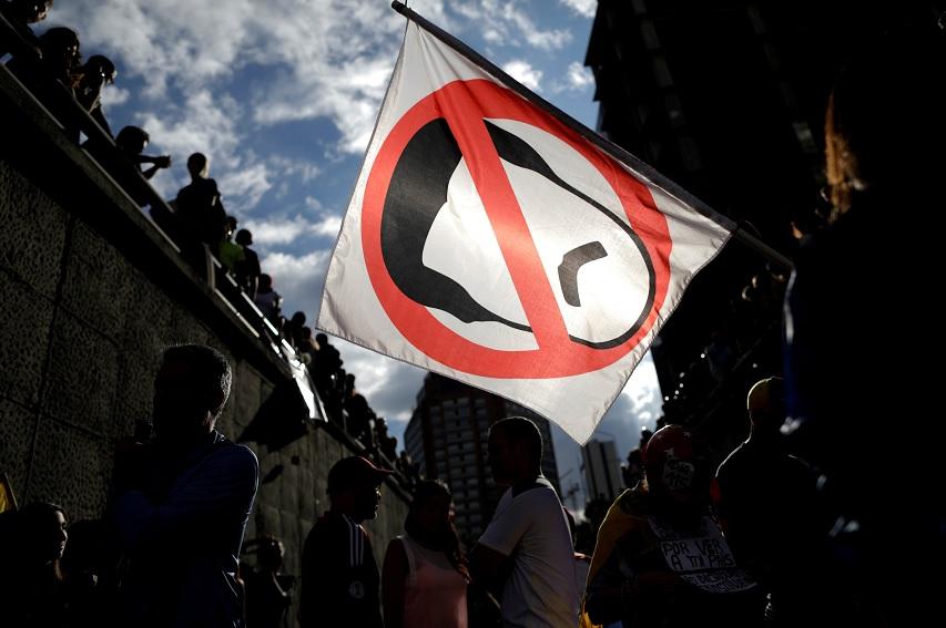 Opositores, Nicolás Maduro, Protestas, Caricatura, Venezuela