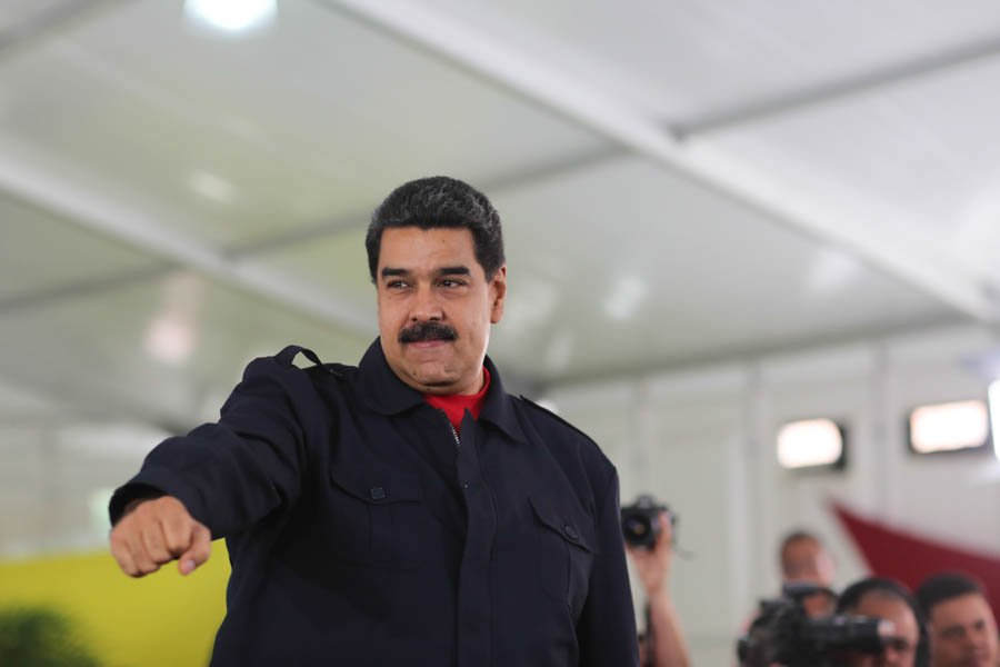 Maduro Califica Insolentes Sanciones Estados Unidos Venezolanos