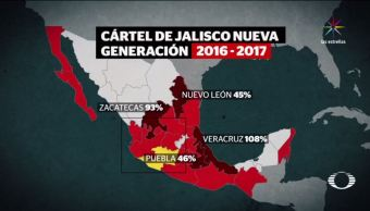 Cártel Jalisco, Nueva Generación, seguridad, narcotráfico, droga, FARC
