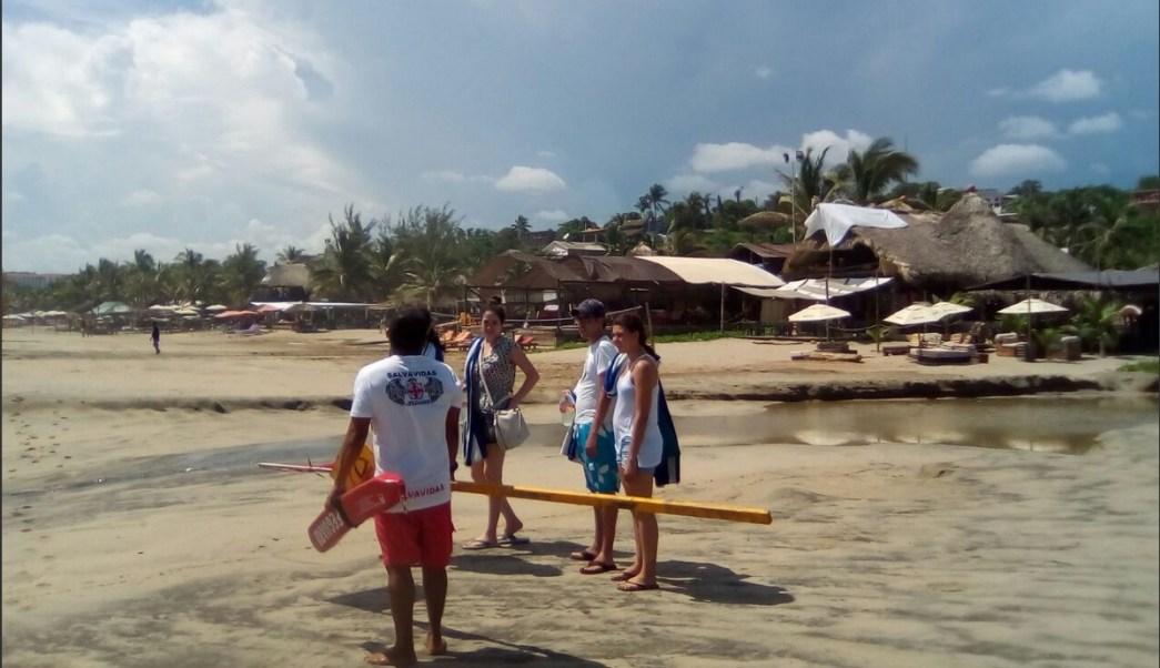 Mar De Fondo, Costas de Oaxaca, Clima, Oaxaca, Salvavidas