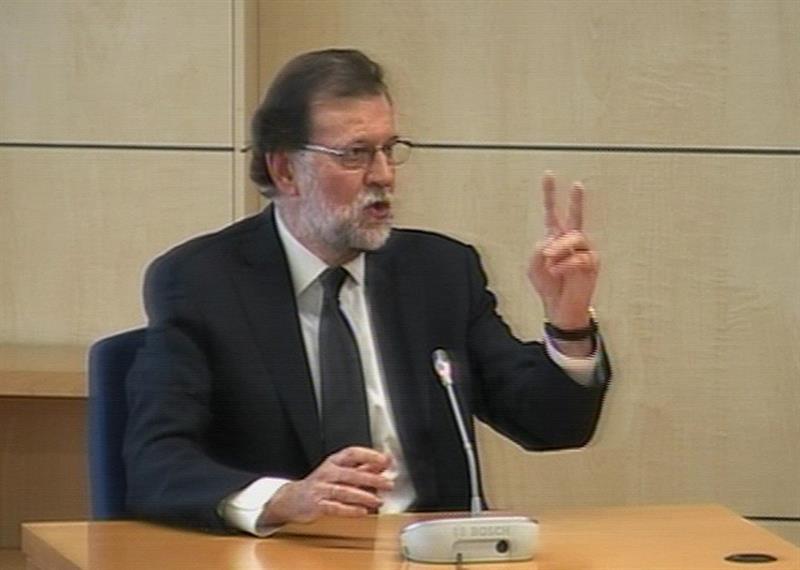 Mariano Rajoy comparece corrupción España Gurtel