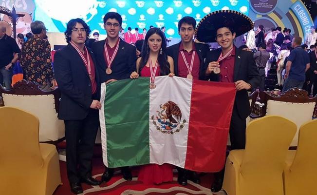Olimpiada Internacional de Física, Estudiantes, mexicanos, UNAM, medallas, bronce, IPhO