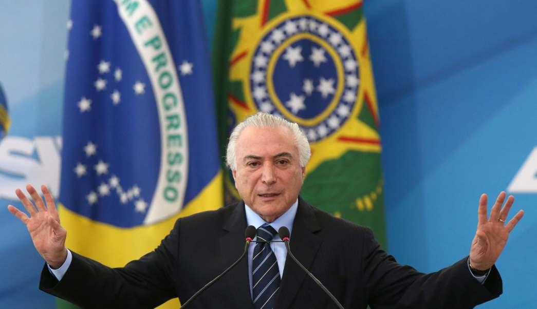 Brasil Temer Corrupción Justicia Segurida Violencia