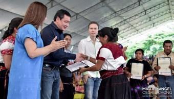 Miguel Ángel Osorio Chong, Secretario de Gobernación, Chiapas, Política