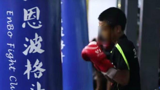 artes marciales mixtas, club pelea, huérfanos, China