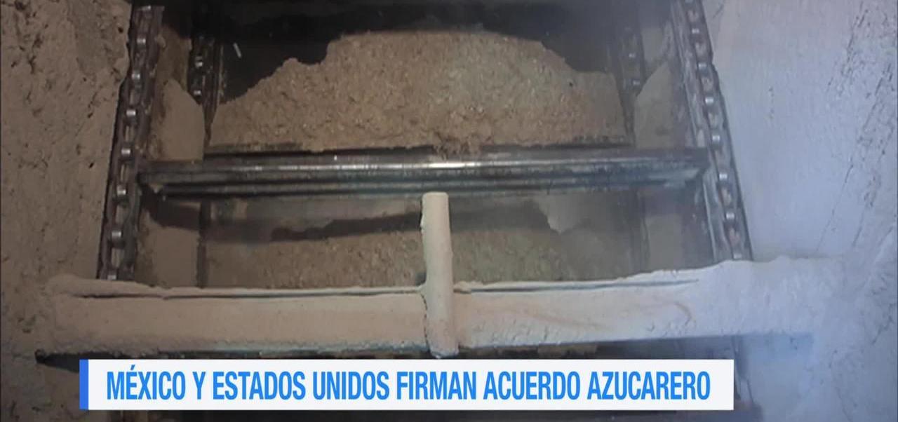 noticias, forotv, México y Estados Unidos firman acuerdo azucarero