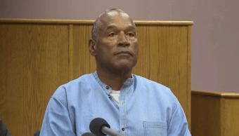 O. J. Simpson comparece ante un tribunal de Nevada