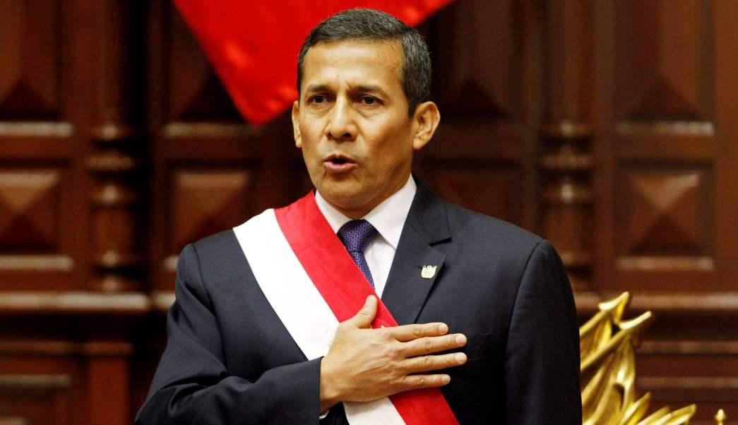 Perú, expresidente, Ollanta Humala, corrupción, justicia, cárcel,