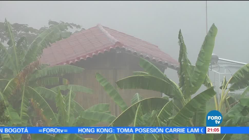 Ondas, tropicales, provocan, lluvias, intensas, Colima