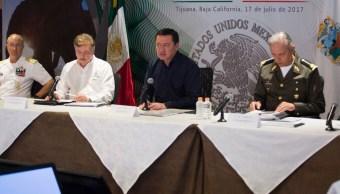 Osorio Chong encabeza en Tijuana reunión del Gabinete