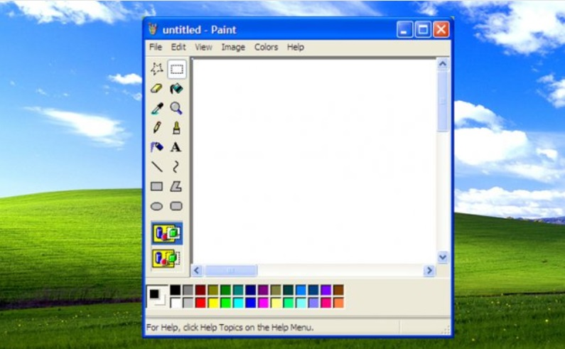 Herramienta, Dibujo, Edicion, Paint, Microsoft
