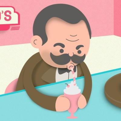 El amor de Pancho Villa por las malteadas de fresa y otros dulceros famosos