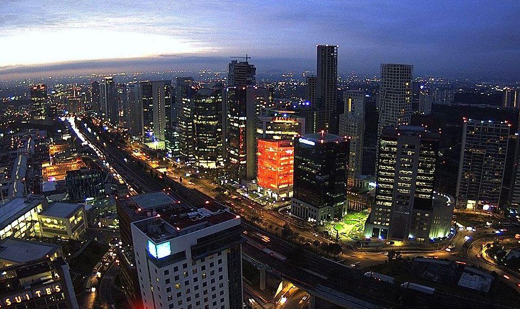 panoramica de la ciudad de mexico, seguiran las lluvias