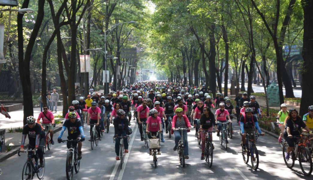 ecobici, muévete en bici, bicicleta, paseo dominical, ciudad de méxico