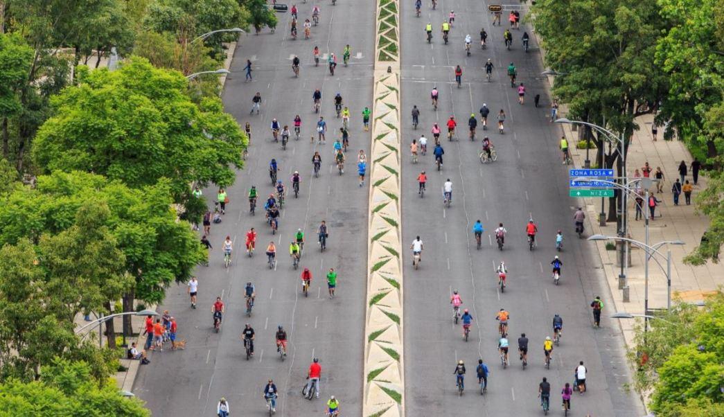 Paseo Dominical, Paseo En Bici, Reforma, Cdmx, Noticias, Noticieros