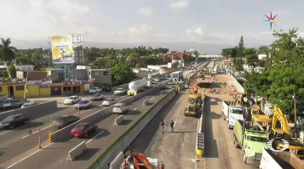 El Chipitlan, Protestan, Vecinos, Construccion, Paso Express Cuernavaca, Morelos