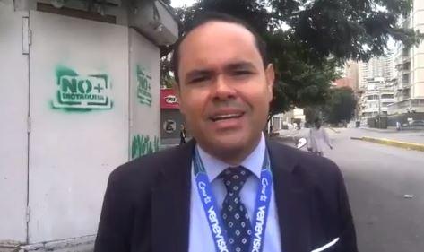 Policia Venezolana Libera Periodista Detencion Protesta