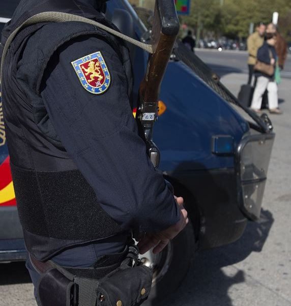 Policia Espana Ala Melilla Ataque Seguridad