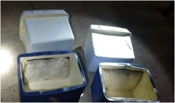 Elementos de la Policía Federal aseguran varios kilos de droga 'crystal'