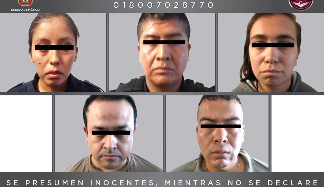 Policias, Detenidos, Secuestro, Seguridad, Atizapán