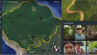 Google, Yo soy Amazonas, Google Earth, selva tropical, google
