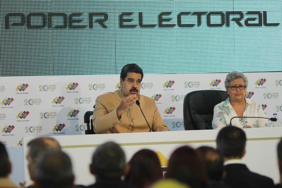 Maduro sanciones Estados Unidos impotencia Trump