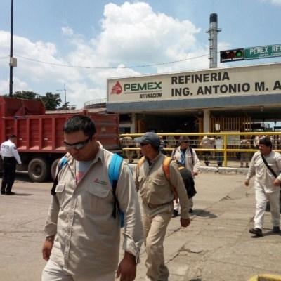 Prohíben uso de celulares a trabajadores de Refinería de Salamanca