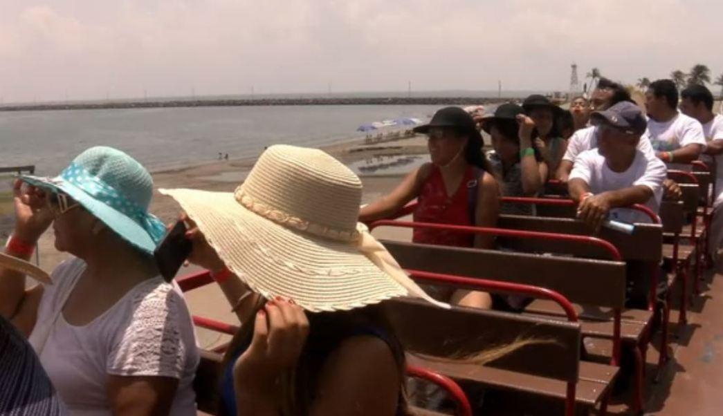 Registra Veracruz buena afluencia de turistas