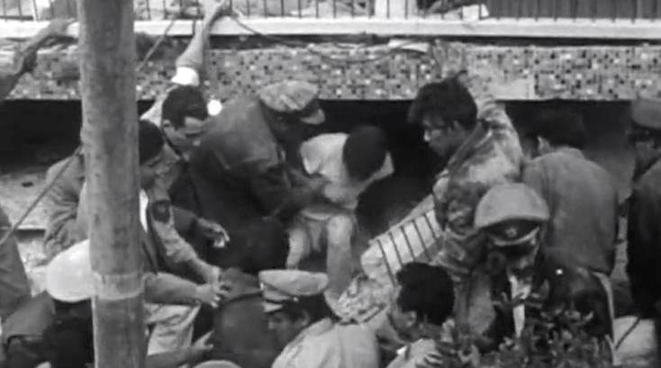 Sismo, Terremoto, Temblor, 1957, Ciudad de México, rescate