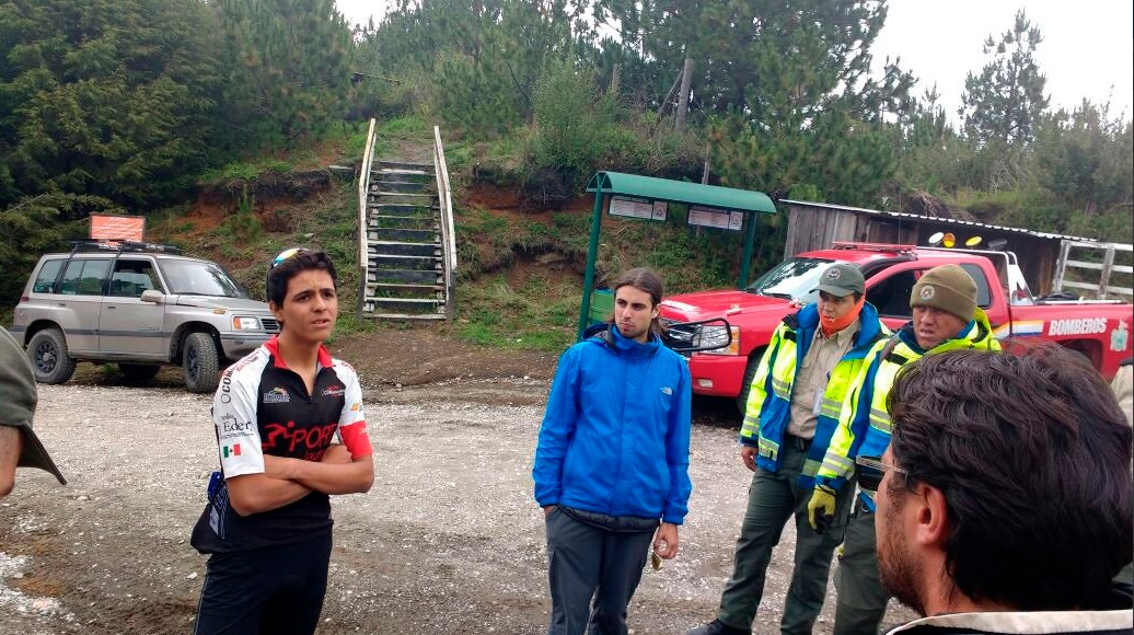 Rescate, Ciclista, Nevado De Colima, Colima, Seguridad, Accidentes