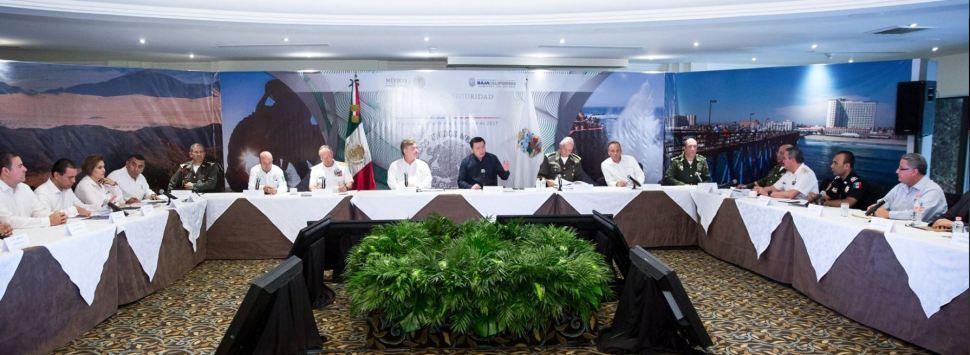 Reunión de Gabinete con Osorio Chong