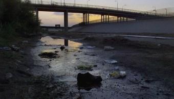 Rescatan cuerpo migrante Rio Bravo CdJuarez