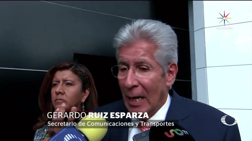 Ruiz Esparza, no, eludirá, responsabilidad, socavón, paso express